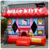 3-D Hello Kitty Inflatable Bounce House