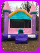 Dazzling Castle Inflatable Bounce House